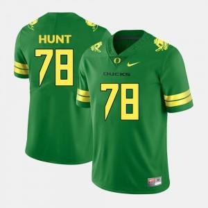 Oregon Ducks Green Men's Cameron Hunt College Jersey Football #78