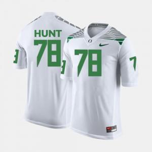 Cameron Hunt College Jersey Football For Men's Ducks White #78