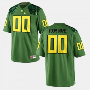 Football Green #00 College Customized Jerseys For Men UO