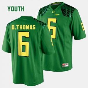 Kids Green University of Oregon #6 De'Anthony Thomas College Jersey Football