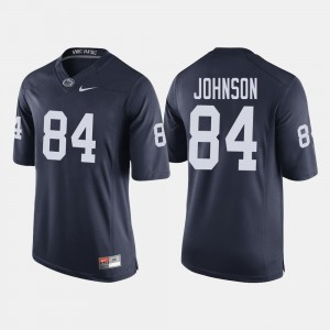 #84 Juwan Johnson College Jersey For Men Navy PSU Football