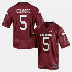 Gamecock For Men's #5 Stephon Gilmore College Jersey Football Cardinal