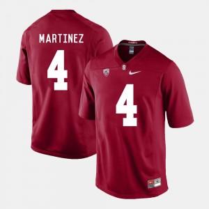 Stanford Cardinal Men's Blake Martinez College Jersey Football #4 Cardinal