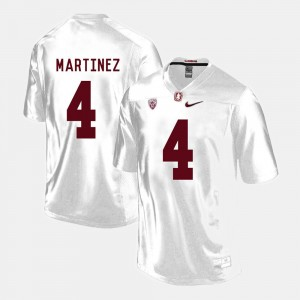 Blake Martinez College Jersey Football #4 Stanford University Mens White