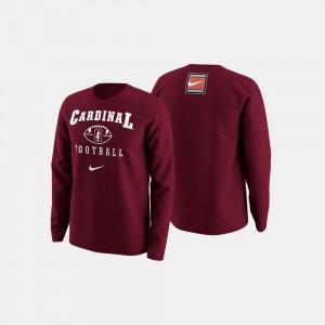 Cardinal Men College Sweater Stanford University Football Retro Pack