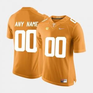 Orange #00 For Men Limited Football TN VOLS College Customized Jerseys