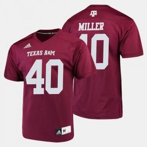 Von Miller College Jersey #40 For Men's Texas A&M Aggies Maroon Football