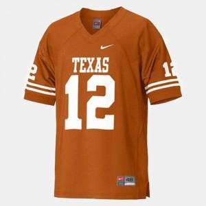 UT Orange Football #12 For Men Colt McCoy College Jersey