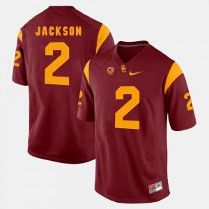 USC Pac-12 Game #2 Red Adoree' Jackson College Jersey Men