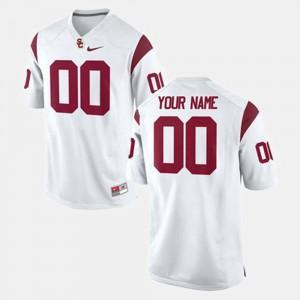 White College Customized Jersey USC Trojan Mens Football #00