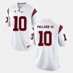 Hayes Pullard III College Jersey White #10 Trojans For Men's Pac-12 Game