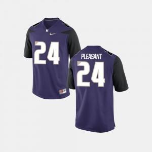 Washington Huskies Kamari Pleasant College Jersey Purple Men's Football #24