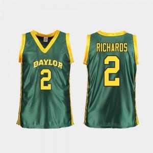 Green Replica #2 Basketball For Women BU DiDi Richards College Jersey