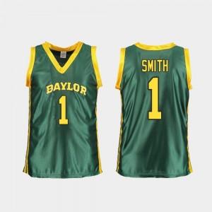 For Women's Replica Green NaLyssa Smith College Jersey BU #1 Basketball