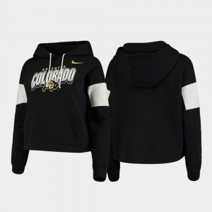 College Hoodie For Women Local Buffs Black Pullover