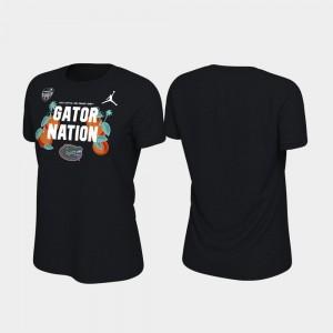 Black Florida College T-Shirt 2019 Orange Bowl Bound For Women