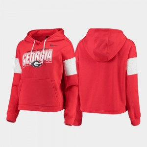 University of Georgia Women's Local Pullover College Hoodie Red
