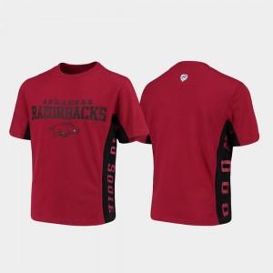 For Kids Cardinal Arkansas Side Bar College T-Shirt