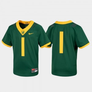 Green Youth College Jersey Baylor Football #1 Untouchable