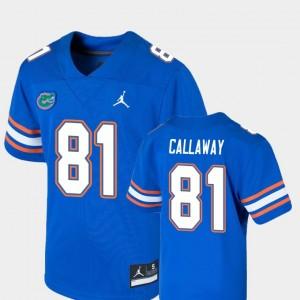 Antonio Callaway College Jersey #81 Football Game Kids Royal Florida
