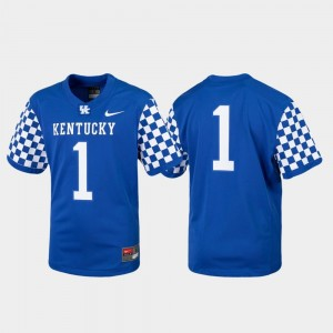 Football Royal College Jersey #1 Replica Wildcats For Kids