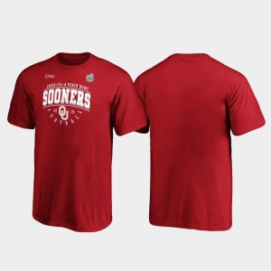Tackle For Kids Crimson University Of Oklahoma College T-Shirt 2019 Peach Bowl Bound