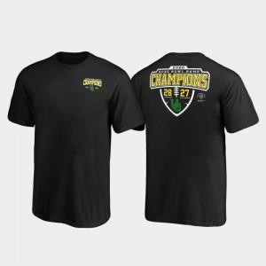 Black 2020 Rose Bowl Champions Lateral Score Kids College T-Shirt Ducks