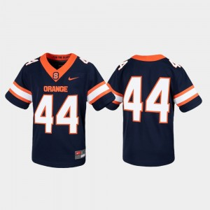 College Jersey Cuse #44 Untouchable Youth Game Navy