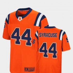 Syracuse University Colosseum Orange College Jersey Foos-Ball Football #44 For Kids