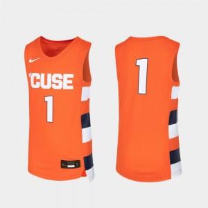 Basketball Orange College Jersey Replica Kids #1 Syracuse Orange