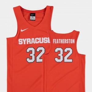 #32 Kids Basketball Syracuse Orange Ray Featherston College Jersey Replica