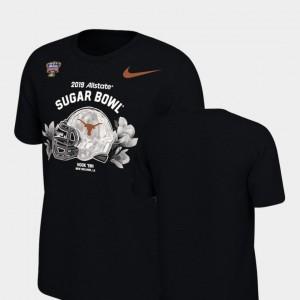 College T-Shirt Illustrated Helmet Longhorns Kids 2019 Sugar Bowl Bound Black