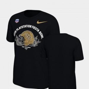 2019 Fiesta Bowl Bound Black College T-Shirt Youth UCF Knights Helmet