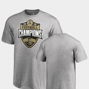College T-Shirt Heather Gray Big & Tall UCF Knights 2018 AAC Football Champions Youth