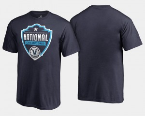 2018 Cut Wildcats College T-Shirt Youth(Kids) Basketball National Champions Navy