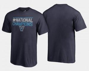 Villanova University Basketball National Champions 2018 Dribble Navy For Kids College T-Shirt