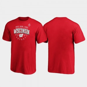 Tackle 2020 Rose Bowl Bound College T-Shirt Youth(Kids) Red Badger